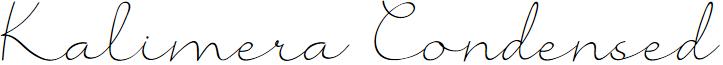 Kalimera Condensed