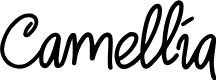 Preview image for Camellia Font