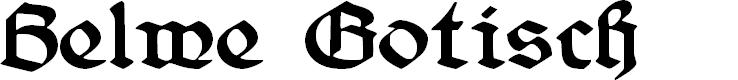Preview image for Belwe Gotisch Font