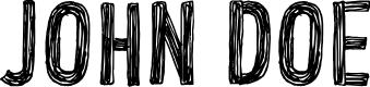 Preview image for CF John Doe PERSONAL USE Regular Font