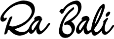 Preview image for RA BALI Font