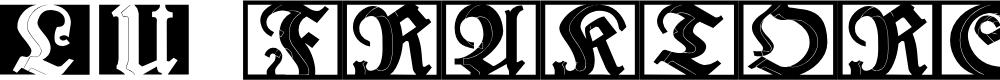Preview image for LuFraktorsoBroad Font