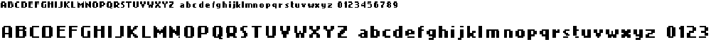 Preview image for 4Mini Font