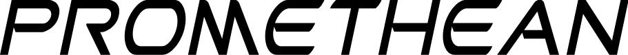 Preview image for Promethean Condensed Italic