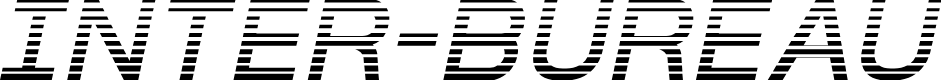 Preview image for Inter-Bureau Gradient Italic