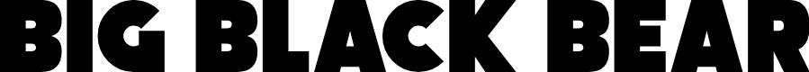 Preview image for Big Black Bear Font