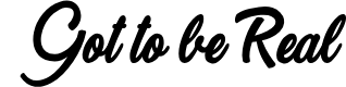 Preview image for Got to be Real Personal Use Regular Font