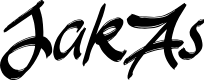 Preview image for JakAs Font