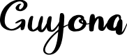 Preview image for Guyona Font
