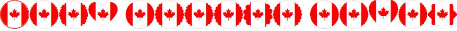 Font Canada Color