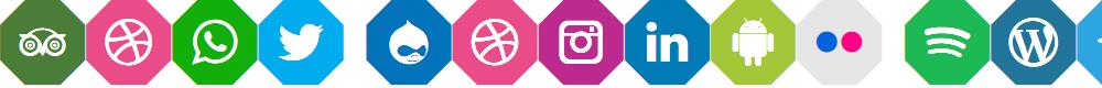 Preview image for Font Social Media Color 2019