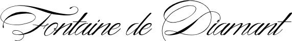 Preview image for Fontaine de Diamant Font