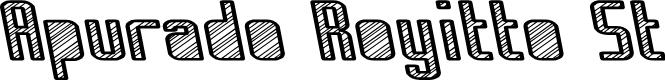 Preview image for Apurado Royitto St Font