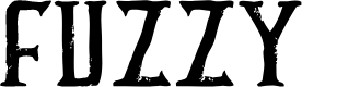 Preview image for FUZZY bold Font