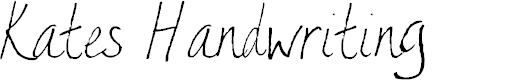 Preview image for AEZ Kate's Handwriting Font