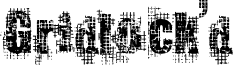 Gridlock'd font