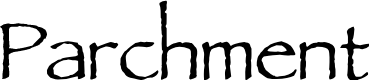Preview image for Parchment MF Font