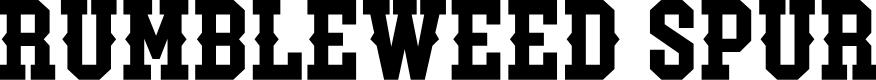 Preview image for RumbleweedSpur-Regular Font