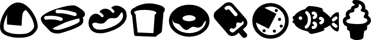 Preview image for Efoodde Font
