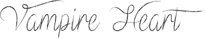 Preview image for Vampire Heart Font