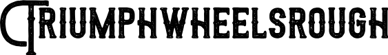 Preview image for Triumphwheelsrough Font