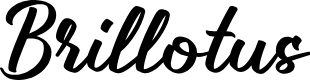 Preview image for Brillotus Font