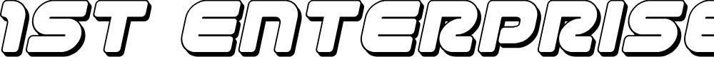 Preview image for 1st Enterprises 3D Italic