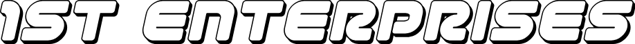 1st Enterprises 3D Italic
