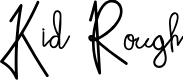 Preview image for Kid Rough Font