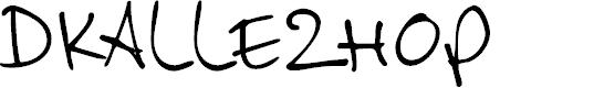 Preview image for DKAllezHop Font