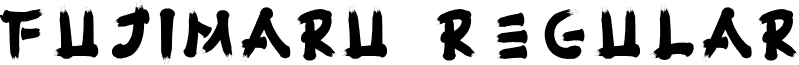 Fujimaru Regular font