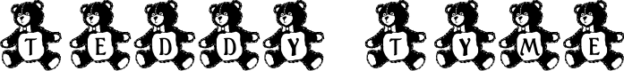 Preview image for LCR Teddy Tyme Font