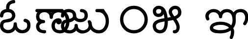 Preview image for Nudi 05 k Font