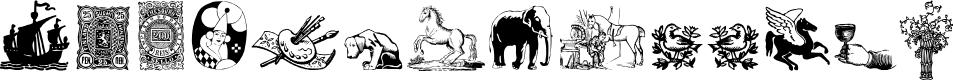 Preview image for Cornucopia of Dingbates Five Font