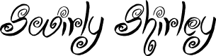 Preview image for Swirly Shirley Font