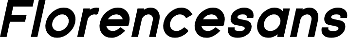 Preview image for Florencesans Black Italic
