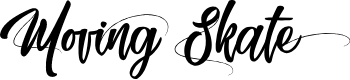 Preview image for Moving Skate Font