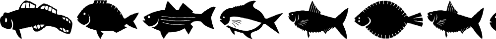 Preview image for AEZ fishie fishie Font