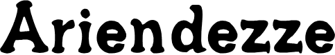 Preview image for Ariendezze Font
