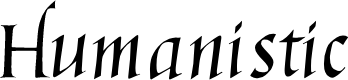 Preview image for Humanistic Cursive
