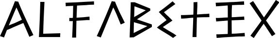 Preview image for Alfabetix Font