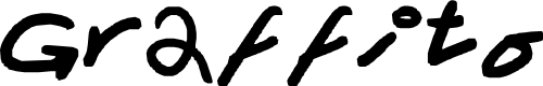 Preview image for Graffito Font