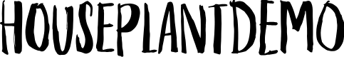 Preview image for HouseplantDEMO Font