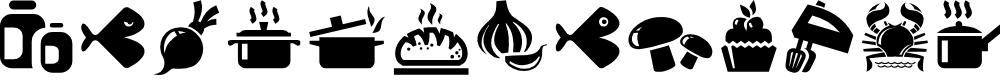 Preview image for Bocartes fritos Regular Font