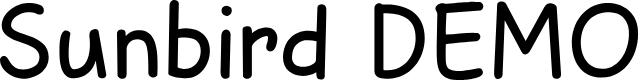 Preview image for Sunbird DEMO Regular