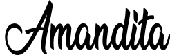 Preview image for Amandita Font