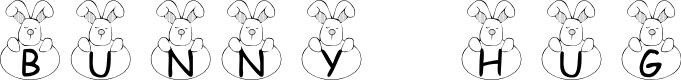 Preview image for 101! Bunny Hug Font