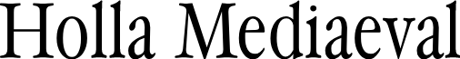 HollaMediaeval