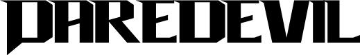 Preview image for Daredevil Font