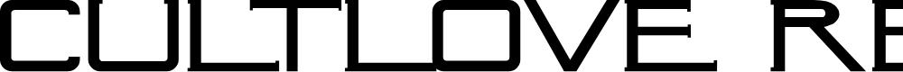 Preview image for CultLove Regular Font